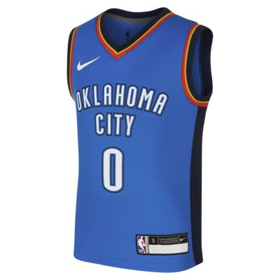 俄克拉荷马城雷霆队 Replica Icon Nike NBA Jersey 幼童球衣
