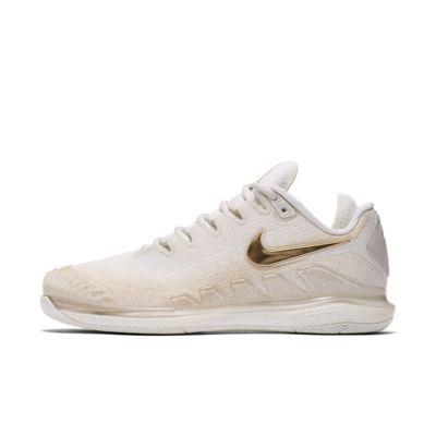 Tennissko för hårt underlag NikeCourt Air Zoom Vapor X Knit för kvinnor