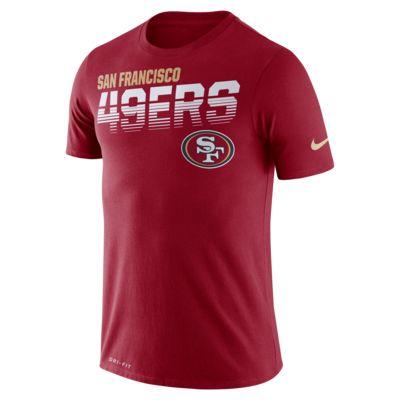 Nike Legend (NFL 49ers)-T-shirt med lange ærmer til mænd