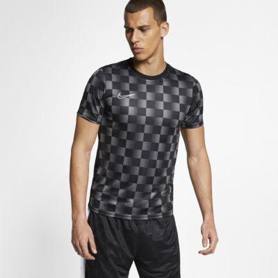 Nike Dri-FIT Academy Men's Printed Short-Sleeve Football Top