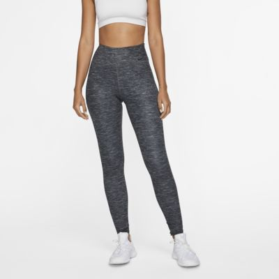 Dámské žíhané legíny Nike One Luxe