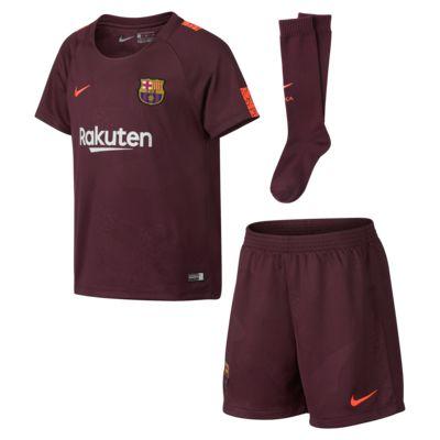 Купить Футбольный комплект для дошкольников 2017/18 FC Barcelona Stadium Third