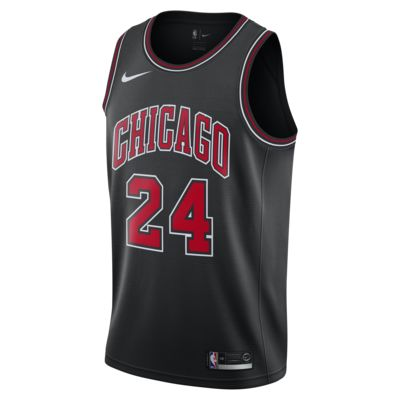Camiseta conectada Nike NBA para hombre Lauri Markkanen Statement Edition Swingman (Chicago Bulls)