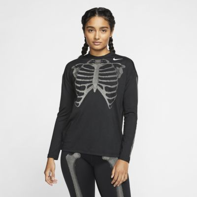 Nike Women's Long-Sleeve Skeleton Top