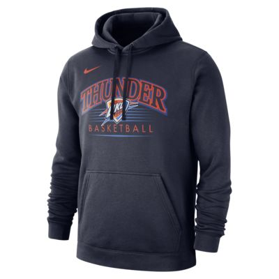 Oklahoma City Thunder Nike NBA-s kapucnis férfipulóver