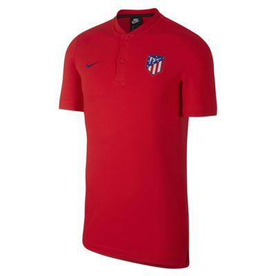 Atletico de Madrid fotballpoloskjorte til herre