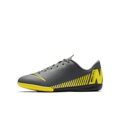 Calzado de fútbol para cancha cubierta para niños talla pequeña/grande Nike Jr. VaporX 12 Academy IC Game Over
