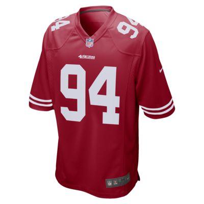 Camiseta de fútbol americano para hombre NFL San Francisco 49ers Game (Solomon Thomas)