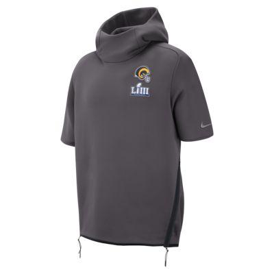 Nike Sideline Super Bowl LIII (NFL Rams) Men's Short-Sleeve Hoodie