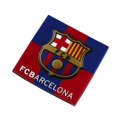 FC Barcelona Rubber Crest Imán
