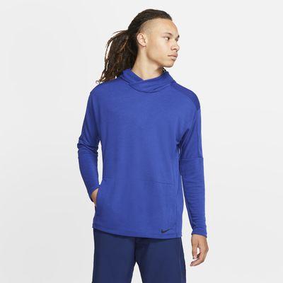 Nike Yoga Dri-FIT-pullover-hættetrøje til mænd