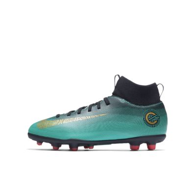 Nike Jr. Mercurial Superfly VI Club CR7 小/大童多種場地足球釘鞋