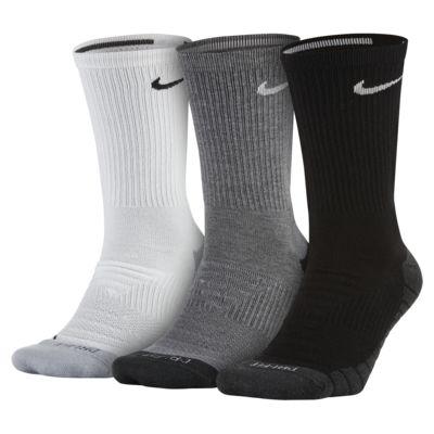 Calcetines de entrenamiento Nike Dry Cushion Crew (3 Pares)