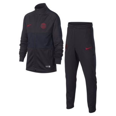 Nike Dri-FIT Paris Saint-Germain Strike fotballtracksuit til store barn