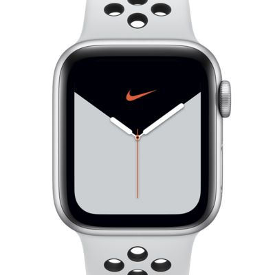 Apple Watch Nike Series 5 (GPS) with Nike Sport Band 40mm Silver Aluminum Case