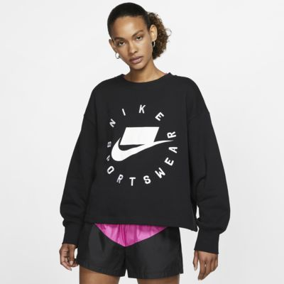 Nike Sportswear NSW Damestrui van sweatstof met ronde hals