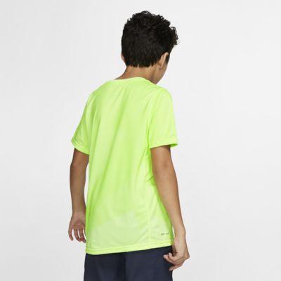 Playera de tenis para niño talla grande Rafa