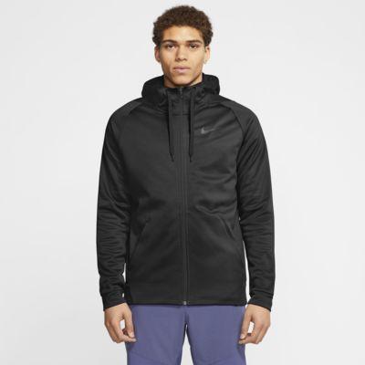 Giacca da training con cappuccio e zip a tutta lunghezza Nike Therma Uomo