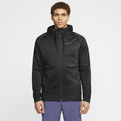 Nike Men's Therma FIT Full Zip Fleece Hoodie
