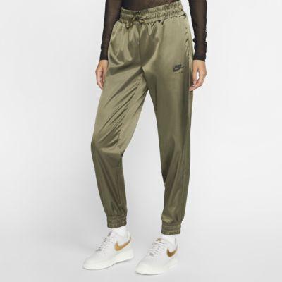 Pantalones de entrenamiento de satén para mujer Nike Air