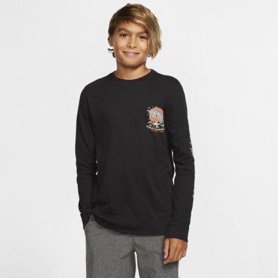 Hurley Premium Record Palms Langarm-T-Shirt für Jungen