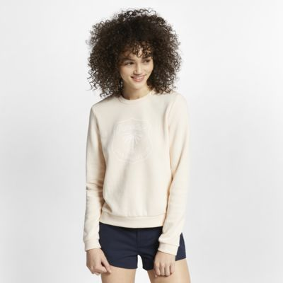 Hurley Dwellers Rundhals-Fleece-Pullover für Damen