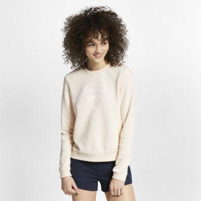 Pullover de lã cardada Hurley Dwellers para mulher