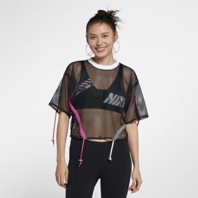 Nike Sportswear 女款短袖網布上衣