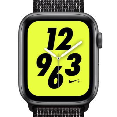 アップル ウォッチ ナイキ+ シリーズ 4 (GPS + Cellular) とナイキ スポーツループ 44mm スポーツウォッチ