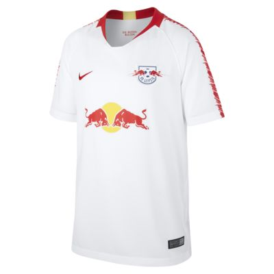 2018/19 RB Leipzig Stadium Home Older Kids' Football Shirt