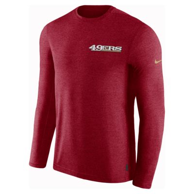 Nike Dri-FIT Coach (NFL 49ers) Men's Long-Sleeve Top