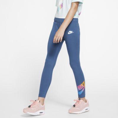Nike Sportswear leggings til store barn (jente)