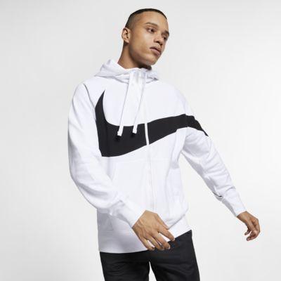 Nike Sportswear Hoodie van sweatstof met rits voor heren
