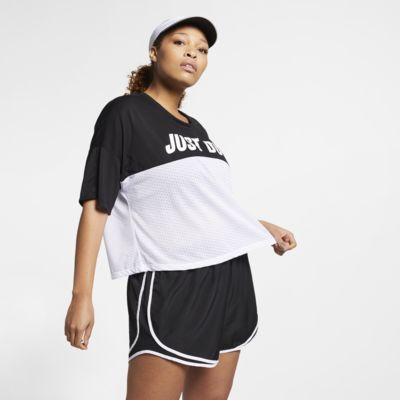 Nike Tailwind Women's Short-Sleeve Running Top (Plus Size)