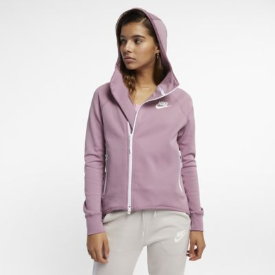 Veste cape entièrement zippée Nike Sportswear Tech Fleece pour Femme