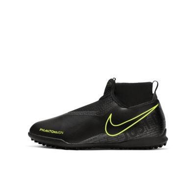 Nike Jr. Phantom Vision Academy Dynamic Fit Little/Big Kids' Turf Soccer Shoe