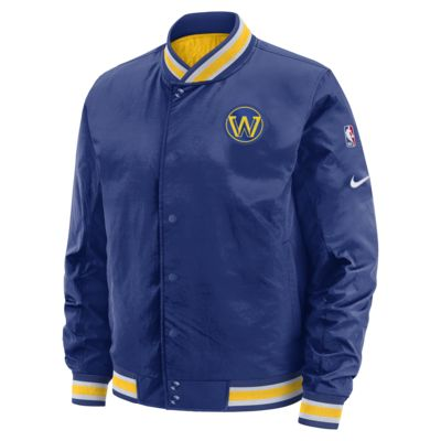Golden State Warriors Courtside Men's Nike NBA Reversible Jacket