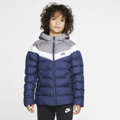 Nike Sportswear-jakke med syntetisk fyld til store børn