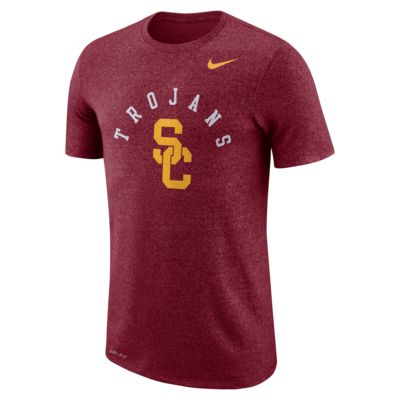 Nike College Marled (USC) Men's T-Shirt