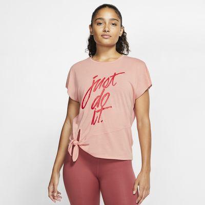 Haut de training à manches courtes Nike Dri-FIT pour Femme