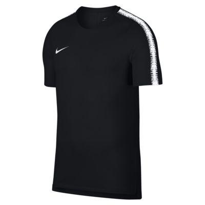 Top de fútbol de manga corta para hombre Nike Breathe Squad