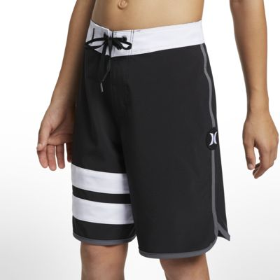 Hurley Phantom Block Party Solid Jungen-Boardshorts (ca. 41 cm)