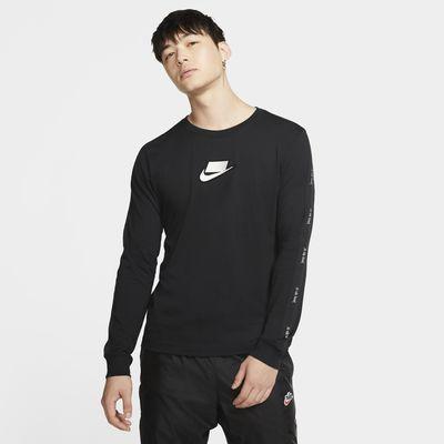 Męski T-shirt z długim rękawem Nike Sportswear NSW