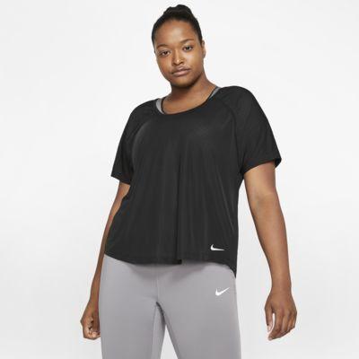 Nike Breathe Miler Damen-Laufoberteil (große Größe)