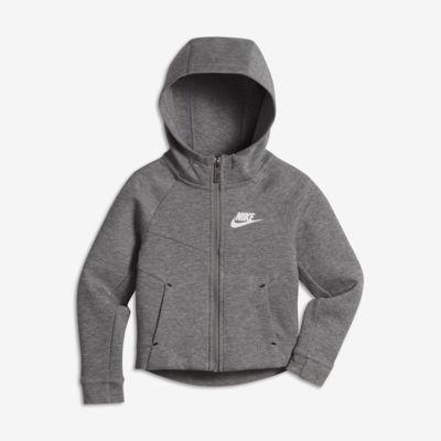 Felpa con cappuccio Nike Sportswear Tech Fleece - Bambina