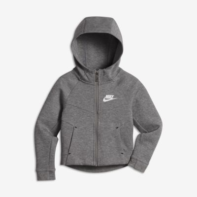Nike Sportswear Tech Fleece Hoodie für jüngere Kinder (Mädchen)