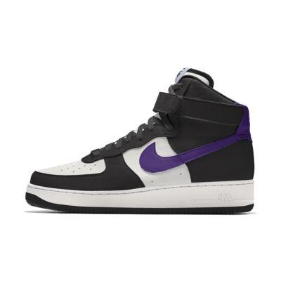 Specialdesignad sko Nike Air Force 1 High By You för kvinnor