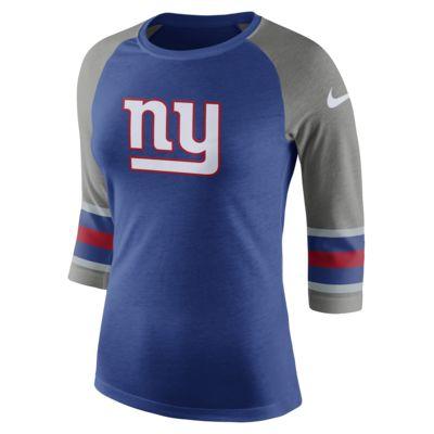 Nike Tri-Blend Raglan (NFL Giants)