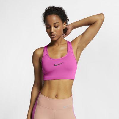 Sujetador deportivo de sujeción media con Swoosh para mujer Nike