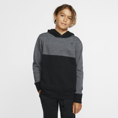 Hurley Crone Textured Boys' Fleece Pullover Hoodie